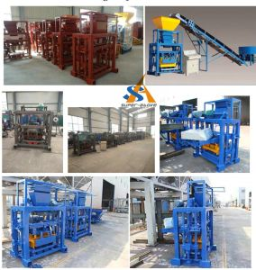 Automatic Construction Building Cement Blocks Making Machines pictures & photos