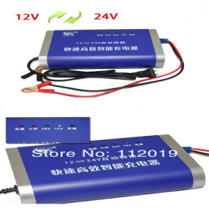 12V/24V Automatic Convert Boat Car Lead Acid Battery Charger pictures & photos