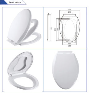Jnt-H1219 Factory Manufacturer Plastic Family Kids and Adults Toilet Seat pictures & photos