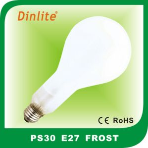 High lumen PS30 E27 clear/frost incandescent bulb pictures & photos