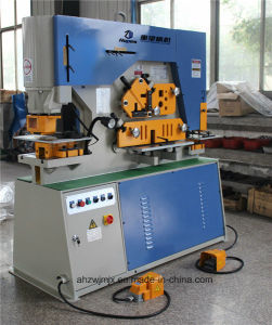 Q35y-16 Hydraulic Combined Punching and Shearing Machine for Metal