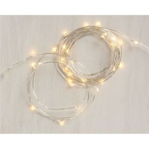 Battery Powered 33FT 100 LEDs Ultra Thin String Wire Starry LED Fairy Lights Lamp for Christmas Wedding and Party pictures & photos