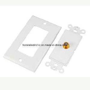 F Connector Wall Plate pictures & photos