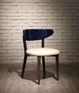 2016 Modern Wood Dining Chair with Soft Fabric Seat (CE-002) pictures & photos