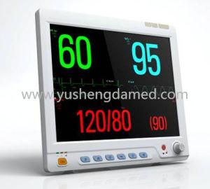 Cheapest ECG Resp NIBP SpO2 Temp Multi-Parameter Patient Monitor pictures & photos