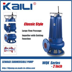 3′ WQK Cutting Sewage Submersible Pump pictures & photos