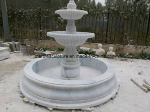Stone Sculpture Marble Fountain Cheap Selling in Stock 2600us$ pictures & photos