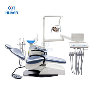 Computer Controlled Soft Leather Dental Unit Chair pictures & photos