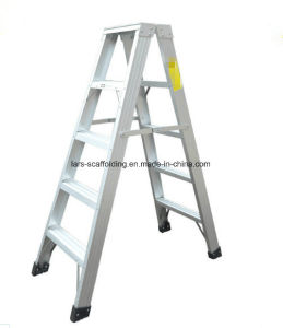 Folding Aluminum Material Ladder Step Latter Fiberglass pictures & photos