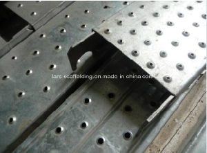 Ringlock System Steel Plank/Walk Board/Catwalk with Welded Hook pictures & photos
