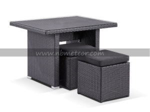 Mtc-255 Garden Outdoor Furniture Set Wicker Patio Dining Table pictures & photos