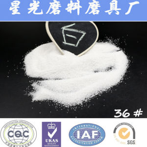 Coatings White Aluminum Oxide Sand Refracotory Materials pictures & photos