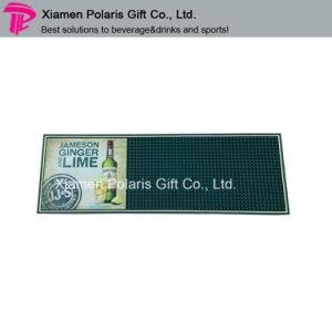 Custom Cmyk Logo Printing Soft PVC Bar Mat pictures & photos