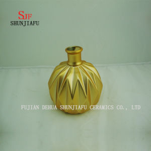 Modern Fashion Homedecoration Electroplating Ceramic Vases pictures & photos