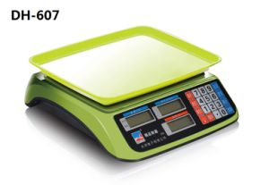 Electronic 30kg Table Top Scale Price Computing Counting Scale (DH-607) pictures & photos
