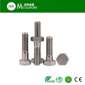 Ss304 Ss316 Stainless Steel Hex Head Bolt (DIN933 DIN931) pictures & photos