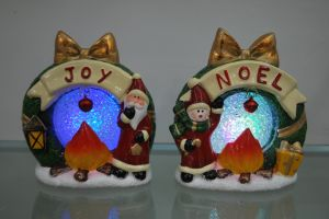 Resin Xmas Furniture Candlestick Candle Holder Craft pictures & photos