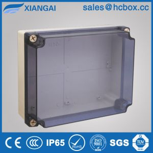 Waterproof Junction Box Electrcial Box PC Transpancy Cover Box 180*180*80mm pictures & photos