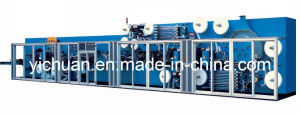 Full Sevo High Speed Panty Liner Machine (Cross Direction) (YC-HD1800-SV)
