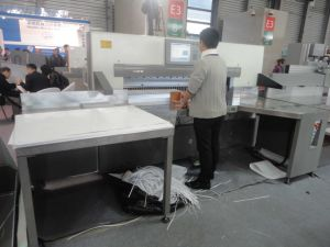 Double Hydraulic Paper Cutting Machine (QZYW115EF) pictures & photos
