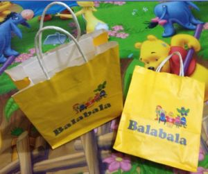 Children Kraft Paper Bag (GL009)