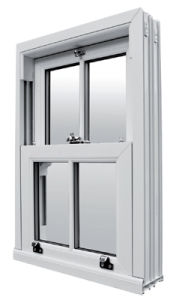 Eco-Friendly UPVC Large Glass Windows (FX-12587) pictures & photos