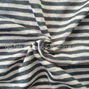 Linen Yarn Dyed Garment Jersey (QF13-0283) pictures & photos