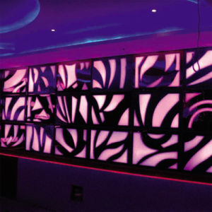 Crystal Rubber Panel for LED Light pictures & photos