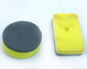 Car Wax Wave-Shaped Sponge Css-03 pictures & photos