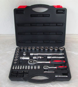 Hot Sale-72PC 1/4&1/2 Dr Professional Socket Tool Kit pictures & photos