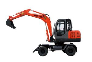 6 Tonne Wheel Excavator (HTL65-8) pictures & photos