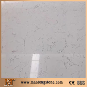 Popular Multi White Quartz Bianca Cararra White Quartz Stone pictures & photos