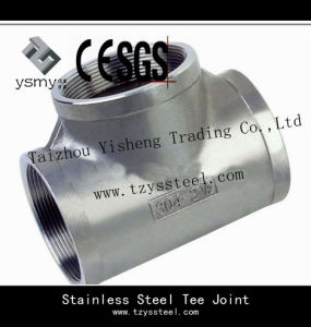 Stainless Steel Tee Flange Joint Connectors