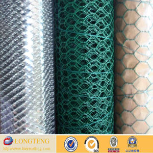 1/2 Inch PVC Coated Hexagonal Wire Mesh (LT-4586)
