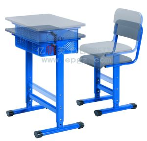 Height Adjustable Desk Frame Adjustable School Desk Chair Student Desk Chair of School Classroom Furniture pictures & photos