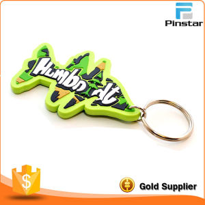 China Wholesale Tree Shaped Rubber PVC Keychain Custom pictures & photos