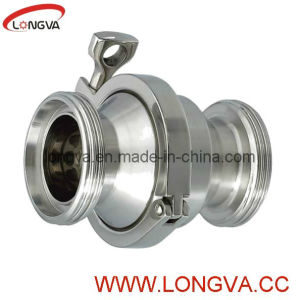 Hygienic 316L Screw Check Valve pictures & photos