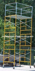 "Mason Frame Tower Scaffold 60""Wx84""Lx247""H Scaffolding"