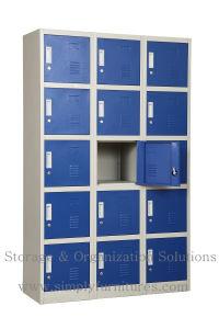 Steel / Metal Wardrobe Locker with 15 Doors pictures & photos