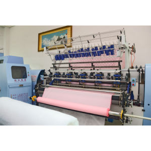 Yuxing 94 Inches Lock Stitch Shuttle Quilting Machine for Comforter Quilts Duvets pictures & photos