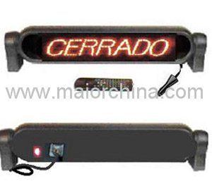 Rear Deck Scrolling Digital Message System (MC16R120)