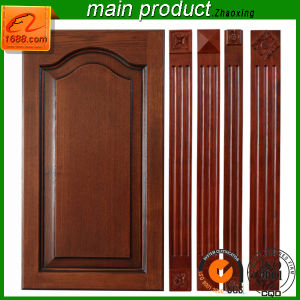 Best Quality Wooden Cabinet Door with Wood Grain Solid Wood