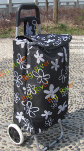 Foldable Shopping Trolley Bag on Wheels