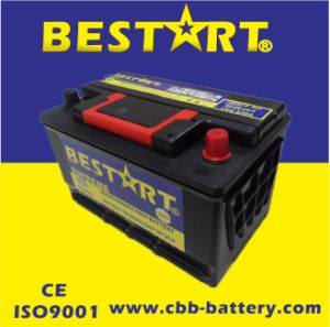 12V63ah Premium Quality Bestart Mf Vehicle Battery DIN 56318-Mf pictures & photos