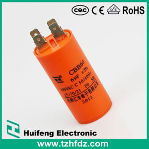 (CBB60) 250VAC 45UF Motor Run Capacitor with Pins pictures & photos