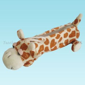 Plush Pencil Case with Giraffe Character pictures & photos