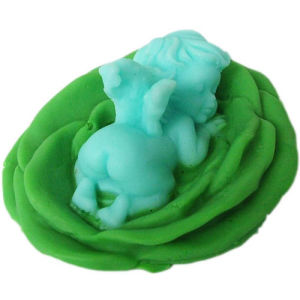 R0641 Handmade Silicone Angel Soap Molds, Silicon Molds, Mould Crafts