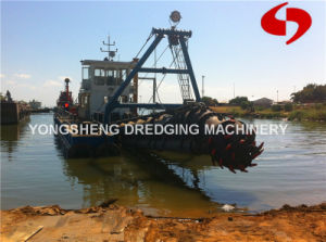 River Slurry Dredger with Output 500 M3/H