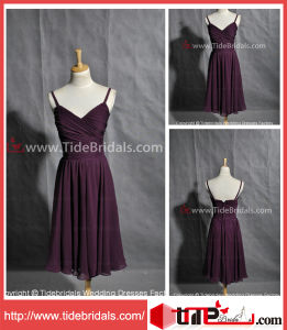 Sheath Strapless Wedding Short Bridesmaid Dress (AS3442)