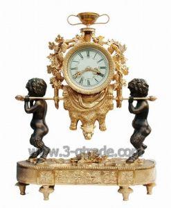 Gilded Copper Clock (JGP3050-5A)